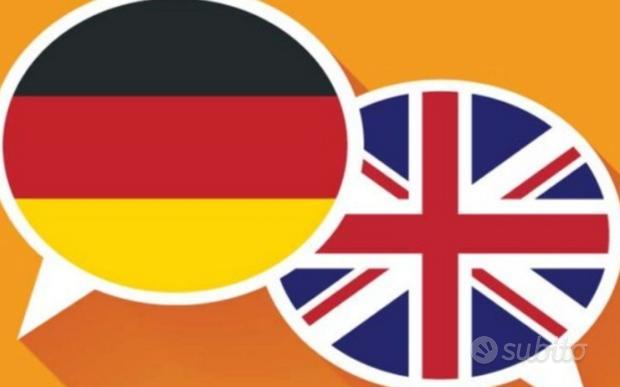 Ripetizioni/lezioni Inglese, Tedesco e francese
