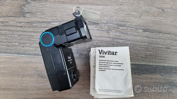 Flash elettronico Vivitar 3500
