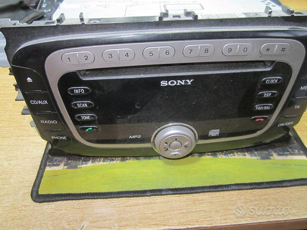 Autoradio di serie x ford c-max-kuga modello sony