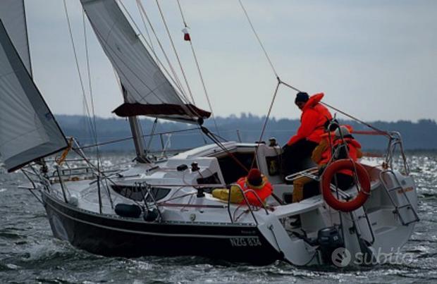 Barca a vela 9 metri in condivisione d'uso