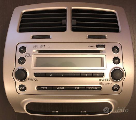 Autoradio CD MP3 Toyota Originale x Urban Cruiser
