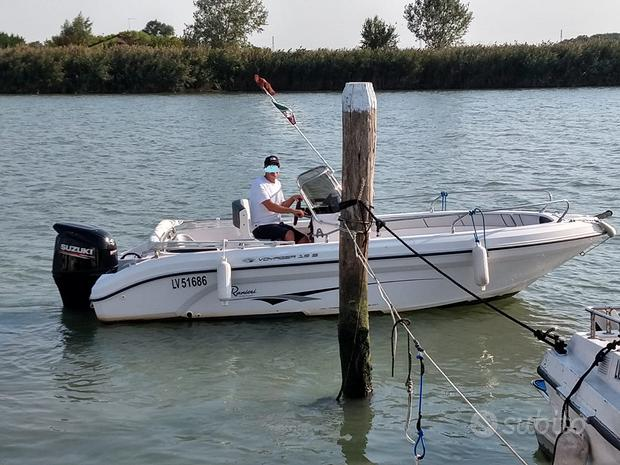 Ranieri Voyager 19S barca open