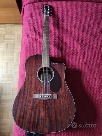 Fender Cd140Sce All Mahogany Chitarra Acustica Ele