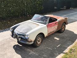 Alfa Romeo Giulietta Spider passo corto 1956