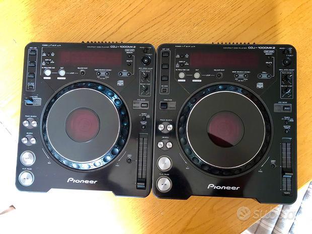 Pioneer CDJ 1000 Mk2 (Coppia + Case)