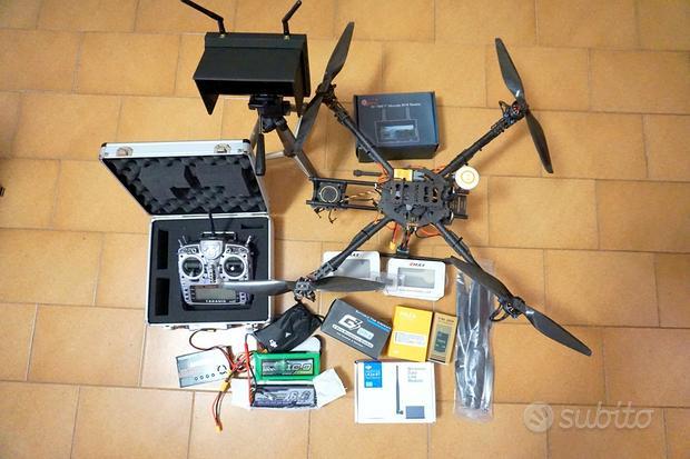 Drone professionale 650 + monitor