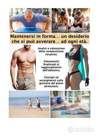 Personal trainer / Preparatore-Consulente sportivo