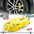 Cover COPRI PINZE Freni Auto GIALLE Tuning 24CM