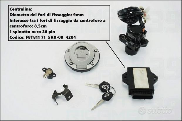 Blocchetto chiave codificato Yamaha fz6 04 11