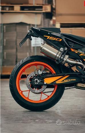 Power Titanium Roadsitalia Ktm Duke 790
