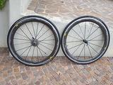 Ruote carbonio bici corsa Mavic