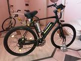 Bici elettrica superleggera in carbonio