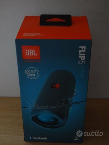 JBL Flip 5 Speaker Bluetooth Portatile- Nuova