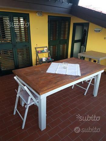 Tavolo tavolino quadrato tondo legno pallet