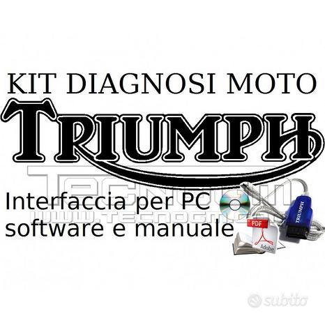 Sistema diagnosi moto Triumph