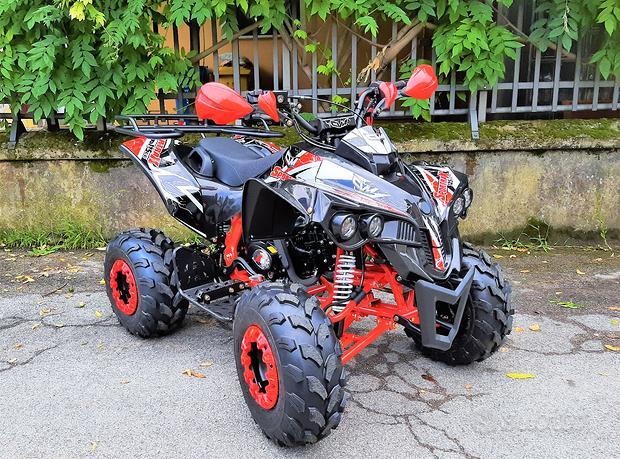 NUOVO quad SPORTMAX 125 r8 con Portapacchi