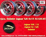 Cerchi Jaguar Xj6/12 Xjs 6x15 Rover P5 P6 Jensen