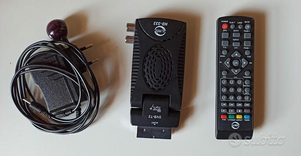 Decoder digitale terrestre DVB-T2 scart