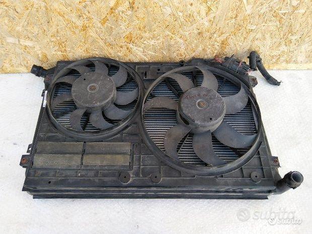 Elettroventole radiatore acqua vw Touran 2008