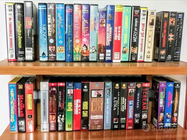 Videocassette VHS - 39 Film Originali
