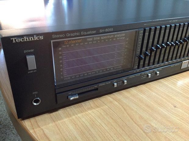 Equalizzatore Technics SH-8055 + Micro RP-3800E