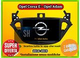 Navigatore wifi 8 pollici Opel Corsa E - Opel Adam