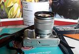 Fujifilm X-A3 + 16-50 F3,5-5,6 autofocus +fisheye