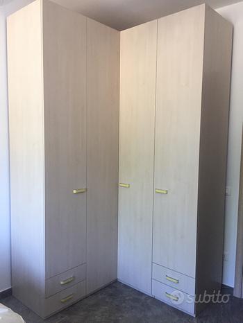 Cameretta completa con armadio angolare