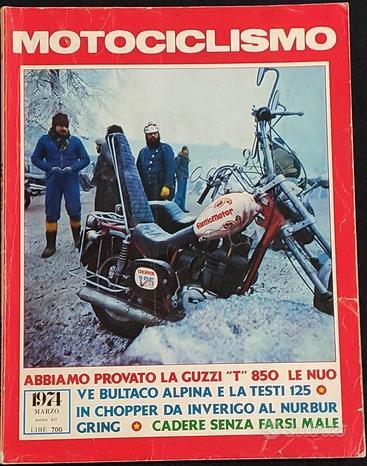 Motociclismo 3/74 Guzzi T-Bultaco Alpina-Testi 125