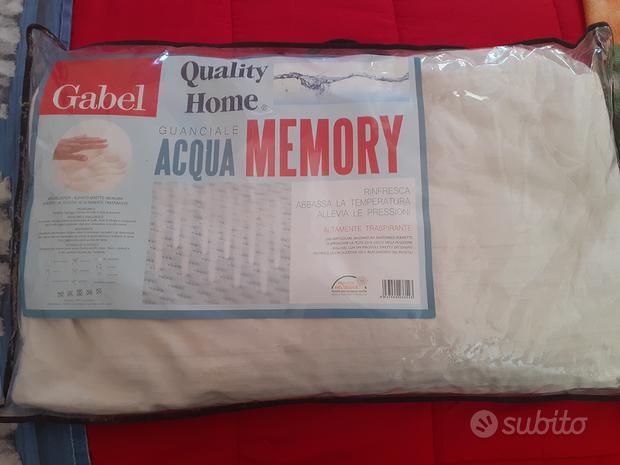 Guanciale acqua memory Gabel