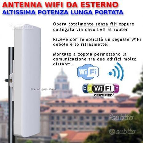 Antenna WiFi da esterno alta potenza amplificatore