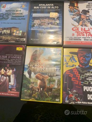DVD western e vari