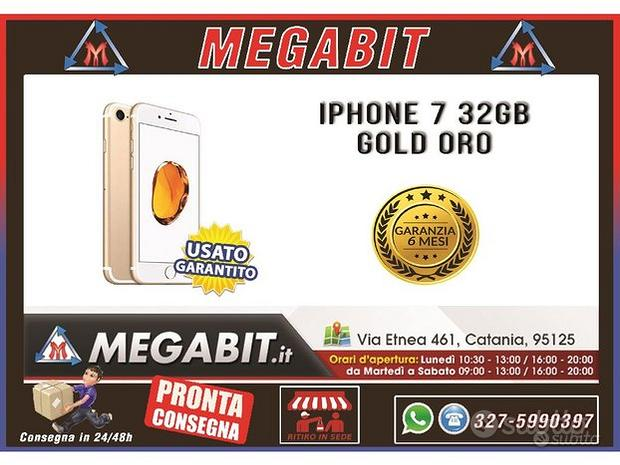 Iphone 7 32gb oro con garanzia