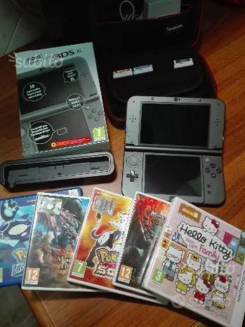 New Nintendo 3 DS XL + Giochi + Accessori