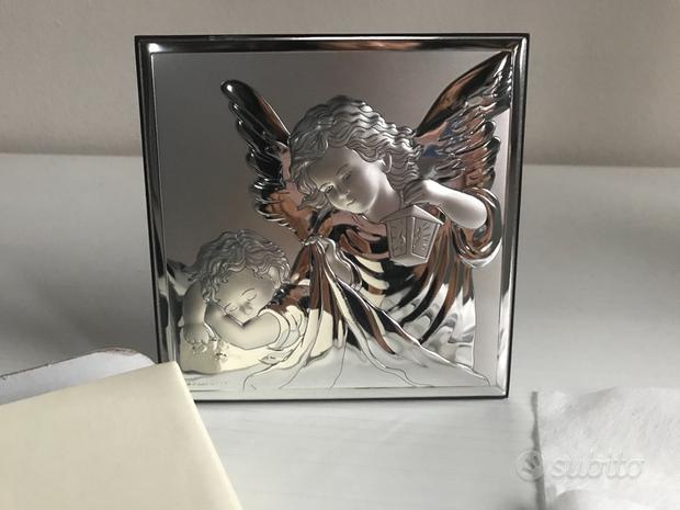 Icona argento angeli
