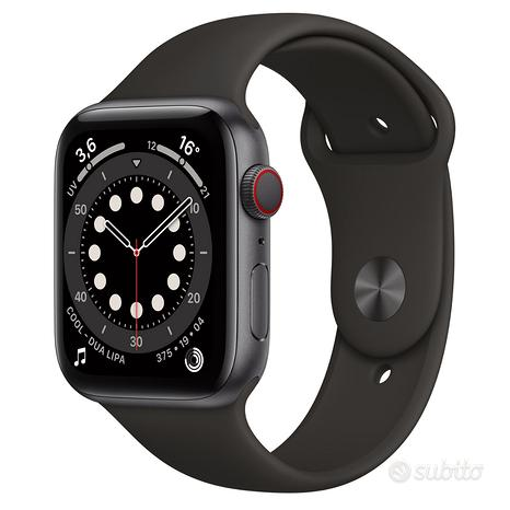 Apple watch Serie 6 44mm Space Gray Gps Cellular