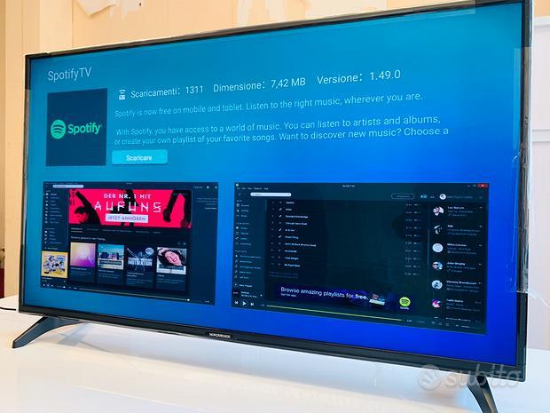 Tv 50 pollici smart uhd 4k con difetto di fabbrica