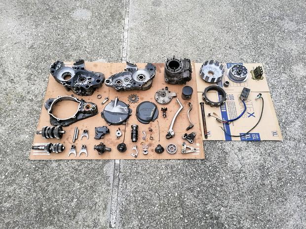 Blocco Motore Suzuki Rm 250 93-95