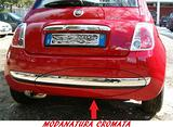 Modanatura posteriore Cromata Fiat 500