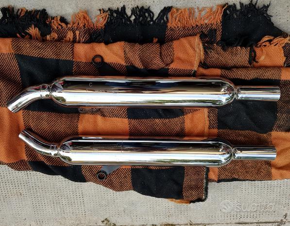 Marmitte originali Triumph Bonneville