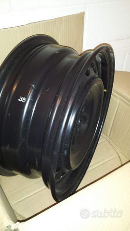 Cerchi acciaio nuovi originali 6jx15et39