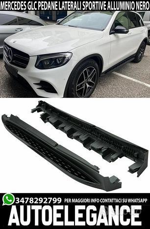 Mercedes glc c253 x253 pedane laterali nere amg