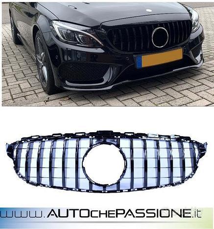 Calandra/Griglia GTR Black Mercedes Classe C W20