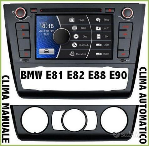 Autoradio DVD GPS SD BMW SERIE 1 E81 E82 E88 E90