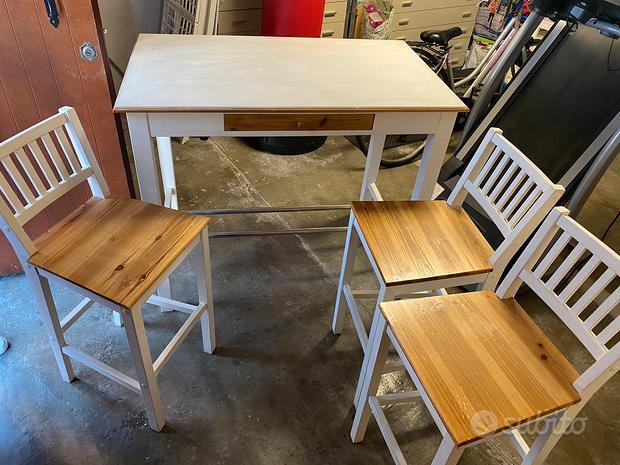 Tavolo+sedie legno