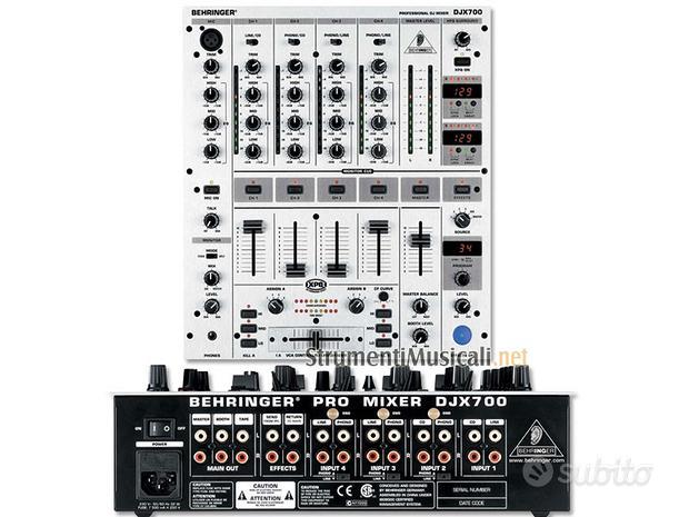 BEHRINGER DJX700 Mixer per DJ (COME NUOVO)