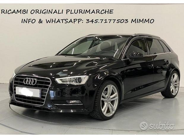 Audi a3 2014 ricambi originali seminuovi C455
