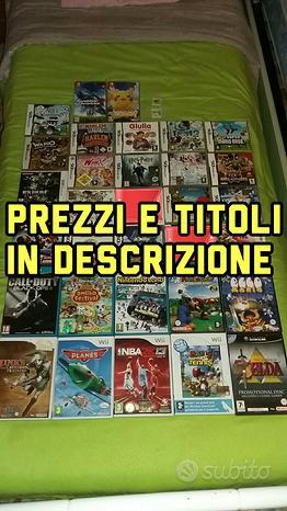 Giochi Per Varie Console Nintendo