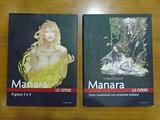 Blocco 2 volumi cartonati Le Opere di Manara