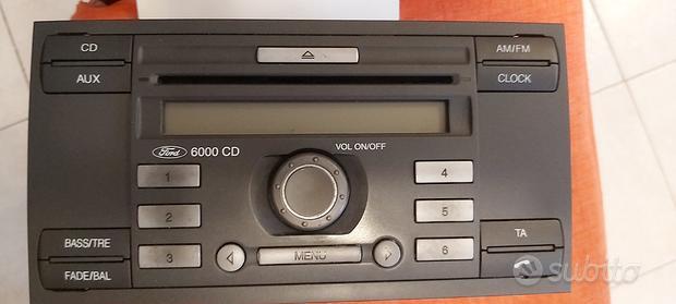 Autoradio ford cd 6000